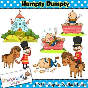 Humpty Dumpty Clip art.