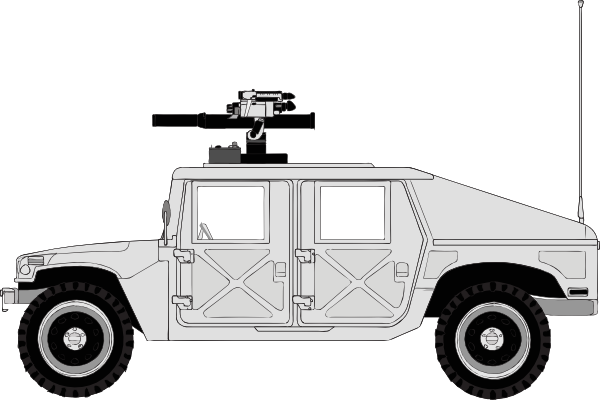 Armed Hummer Clip Art at Clker.com.