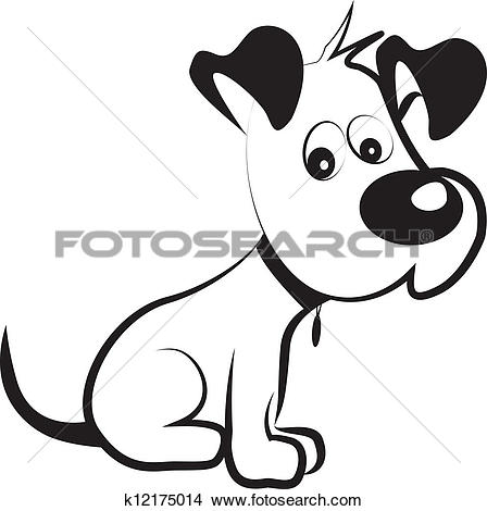 Clipart of Royalty dog k2529925.