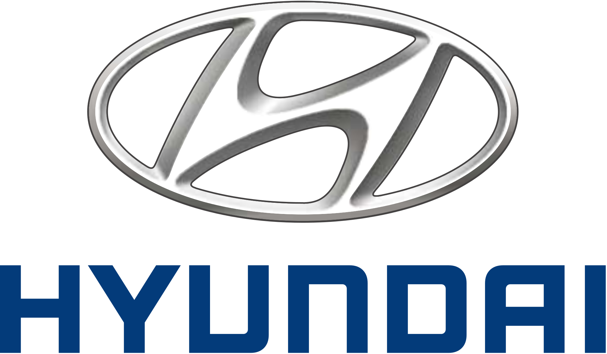 Hyundai Logo Vector Transparent Background.