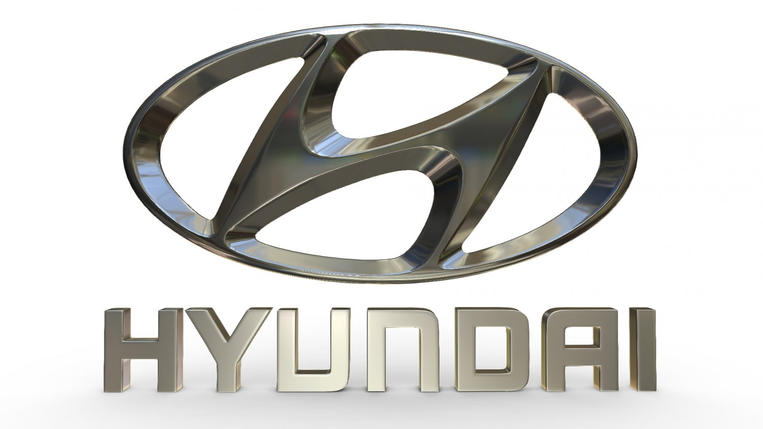 Hyundai logo 3D Model in Parts of auto 3DExport.