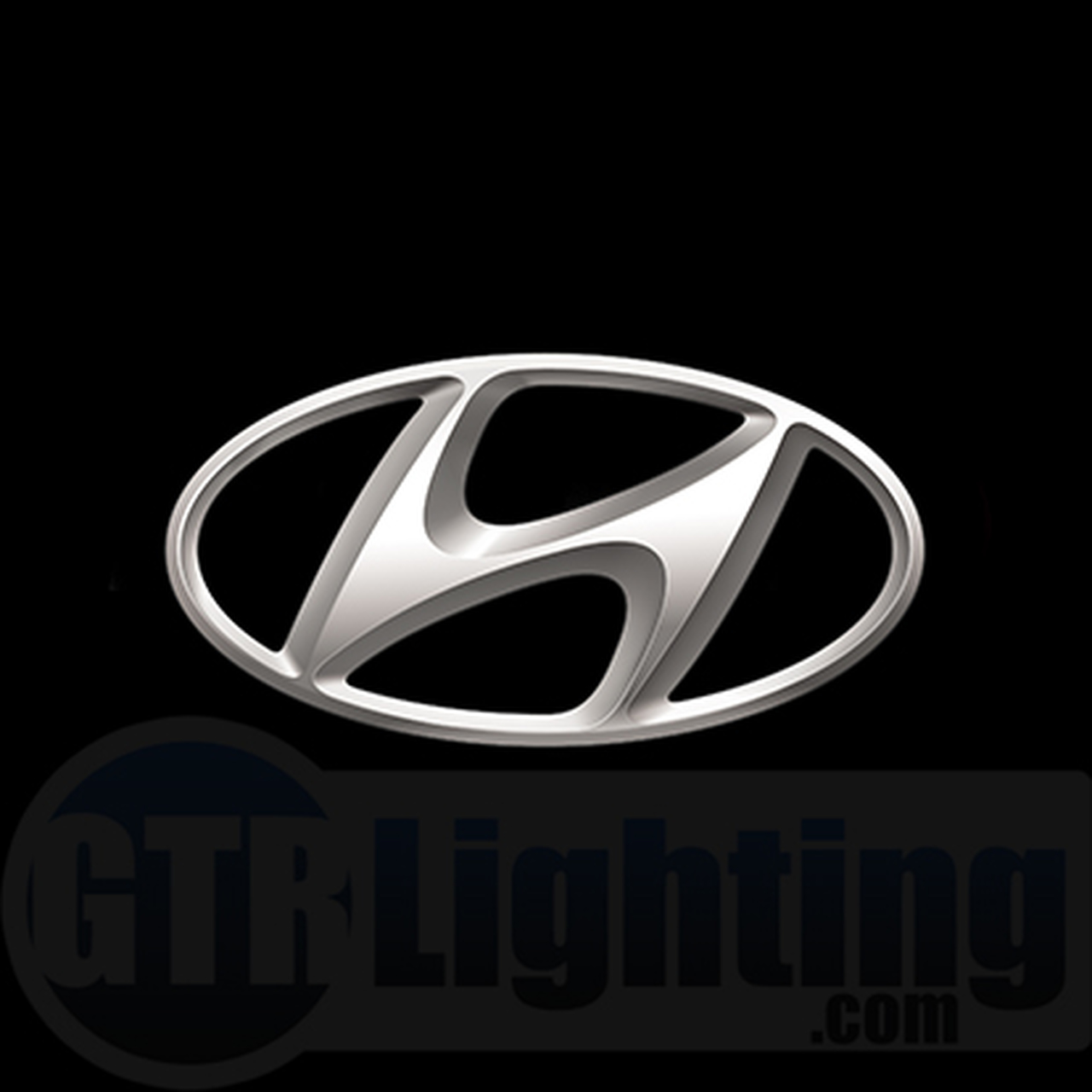 GTR Lighting LED Logo Projectors, Hyundai Logo, #67.