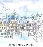 Hundertwasser Stock Illustrations. 2 Hundertwasser clip art images.