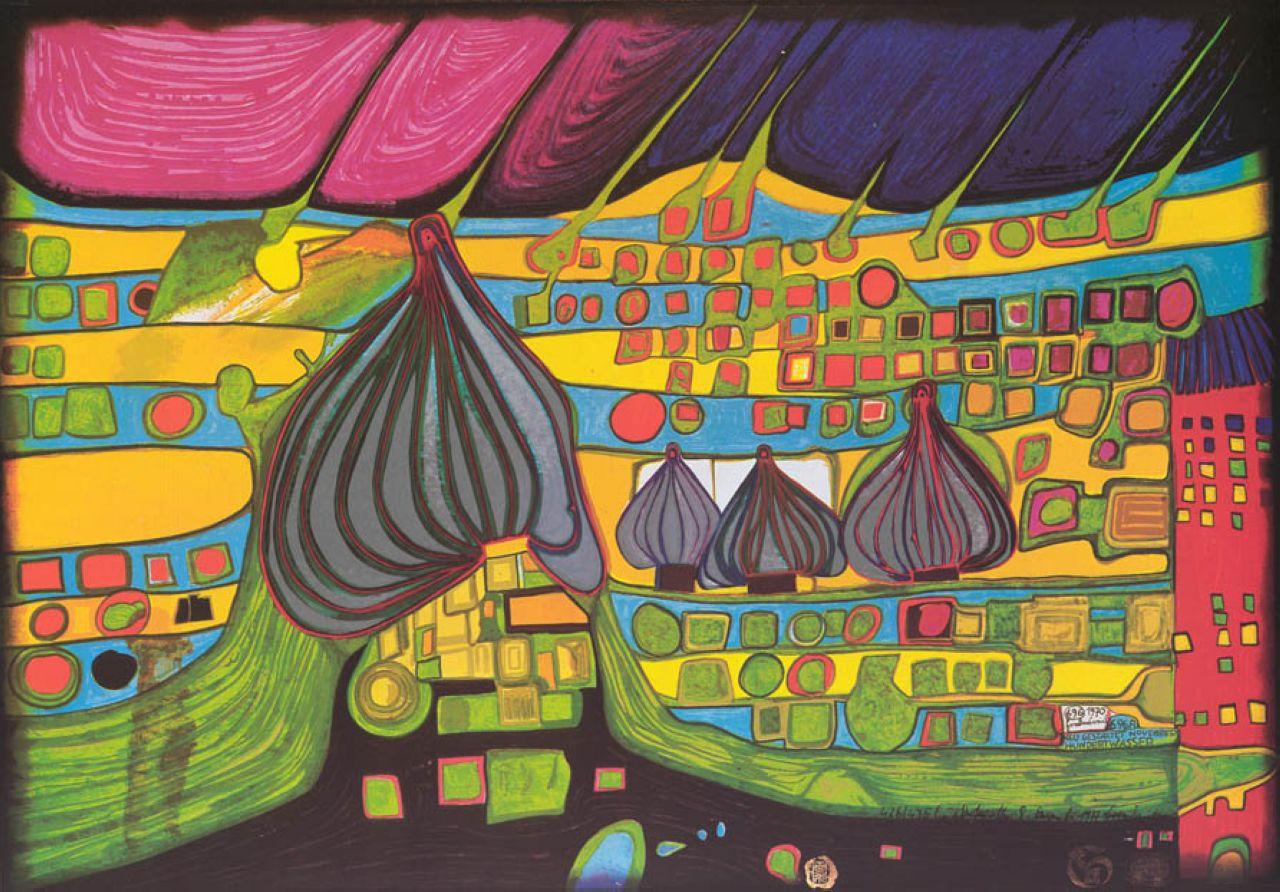 bernard vargas: Friedensreich Hundertwasser.