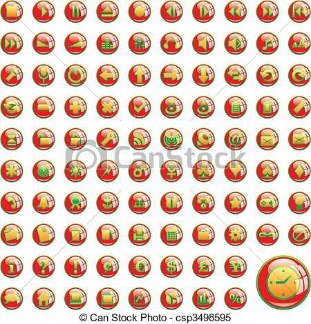 One Hundred Clip Art.