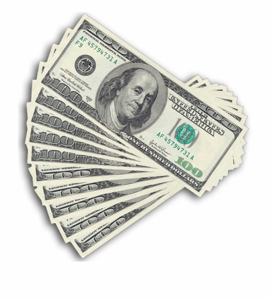 Hundred Dollar Bill Png Free PNG Images & Clipart Download #241659.