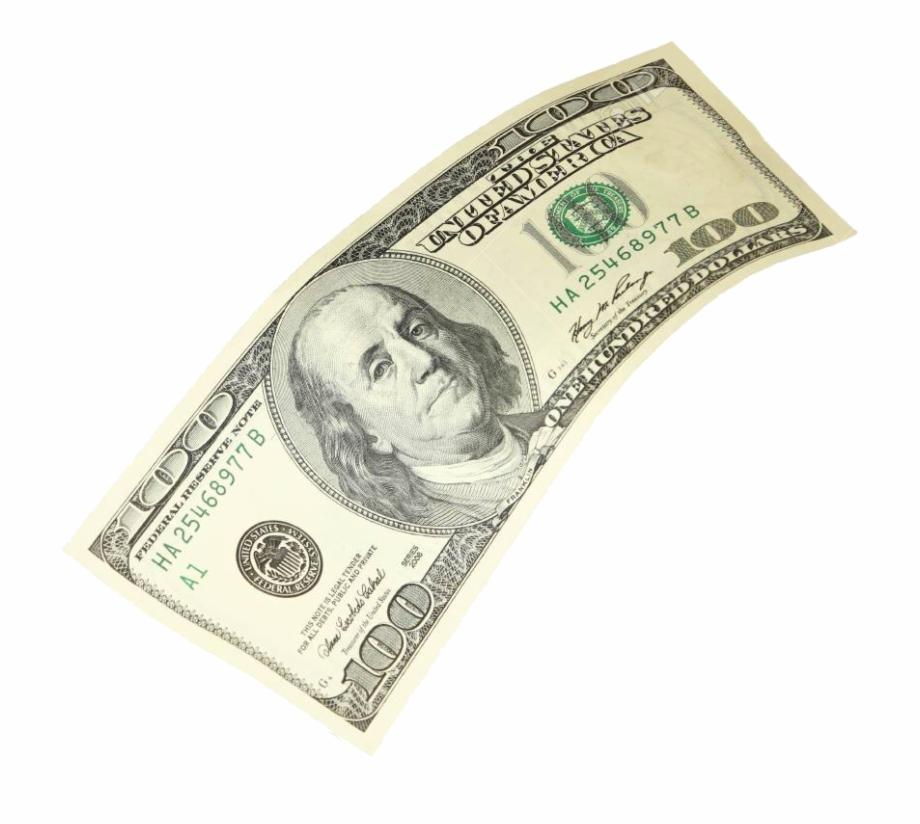 Falling Hundred Dollar Bills , Png Download.