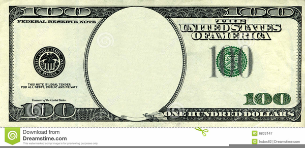 Dollar Bill Monopoly Clipart.