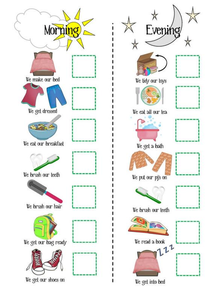 Responsibility Chart Clipart.