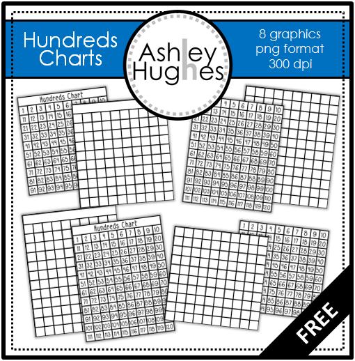 Blog Hoppin\': Hundreds Chart {Freebie}.