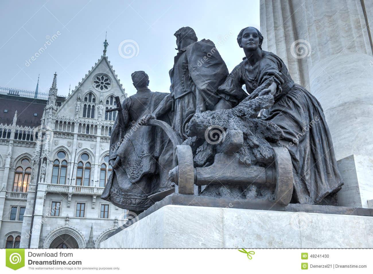 Istvan Tisza Statue.