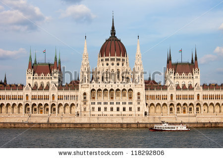 Hungarian Parliament Building Gothic Revival Architecture By The.