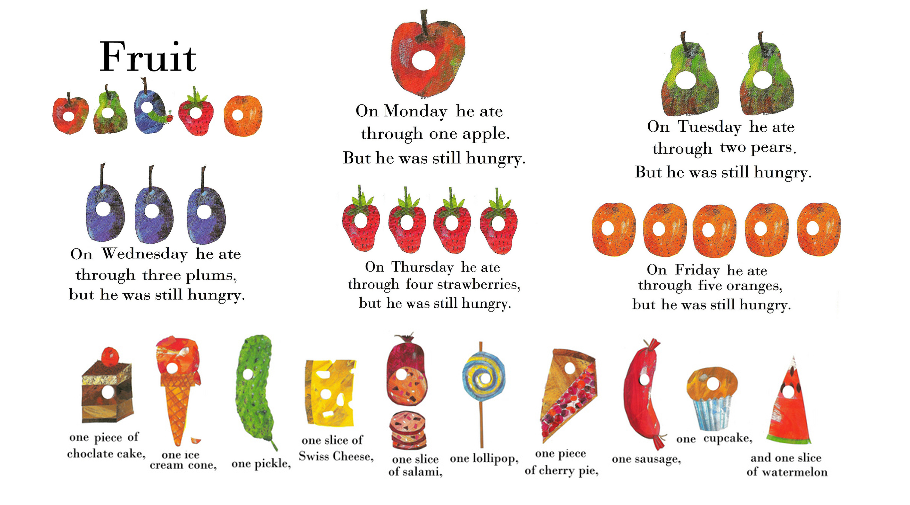 thepodandthepea » DIY The Very Hungry Caterpillar™ Party Menu.