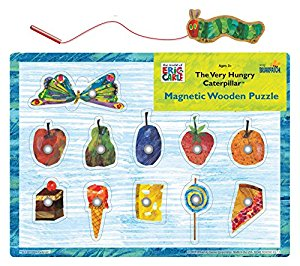 Amazon.com: The Very Hungry Caterpillar Magnetic Wood Puzzle.