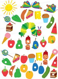 Very Hungry Caterpillar Free Printables.
