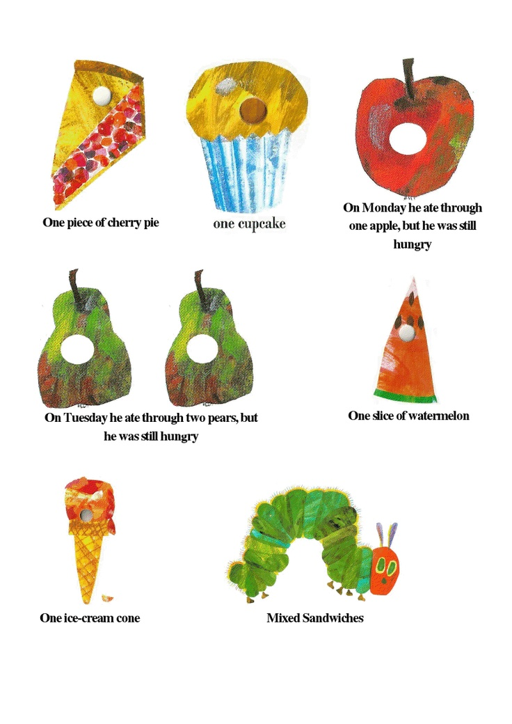 25+ best ideas about Hungry Caterpillar Food on Pinterest.