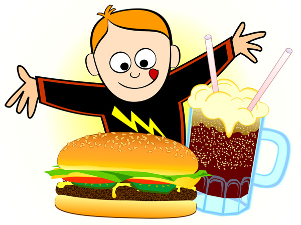 Hungry clipart image #37434.