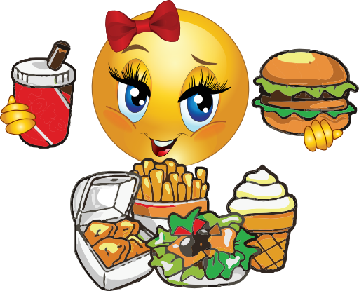 Hungry Face Clipart.