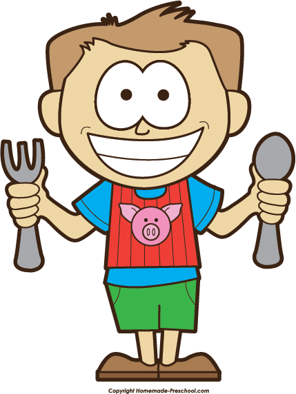 Hungry Boy Clipart.