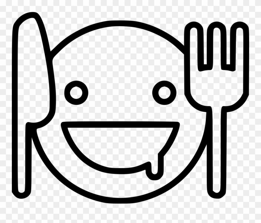 Hungry Face For Coloring Clipart (#950849).