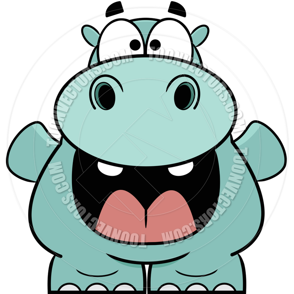 Hungry Hippo Clipart.