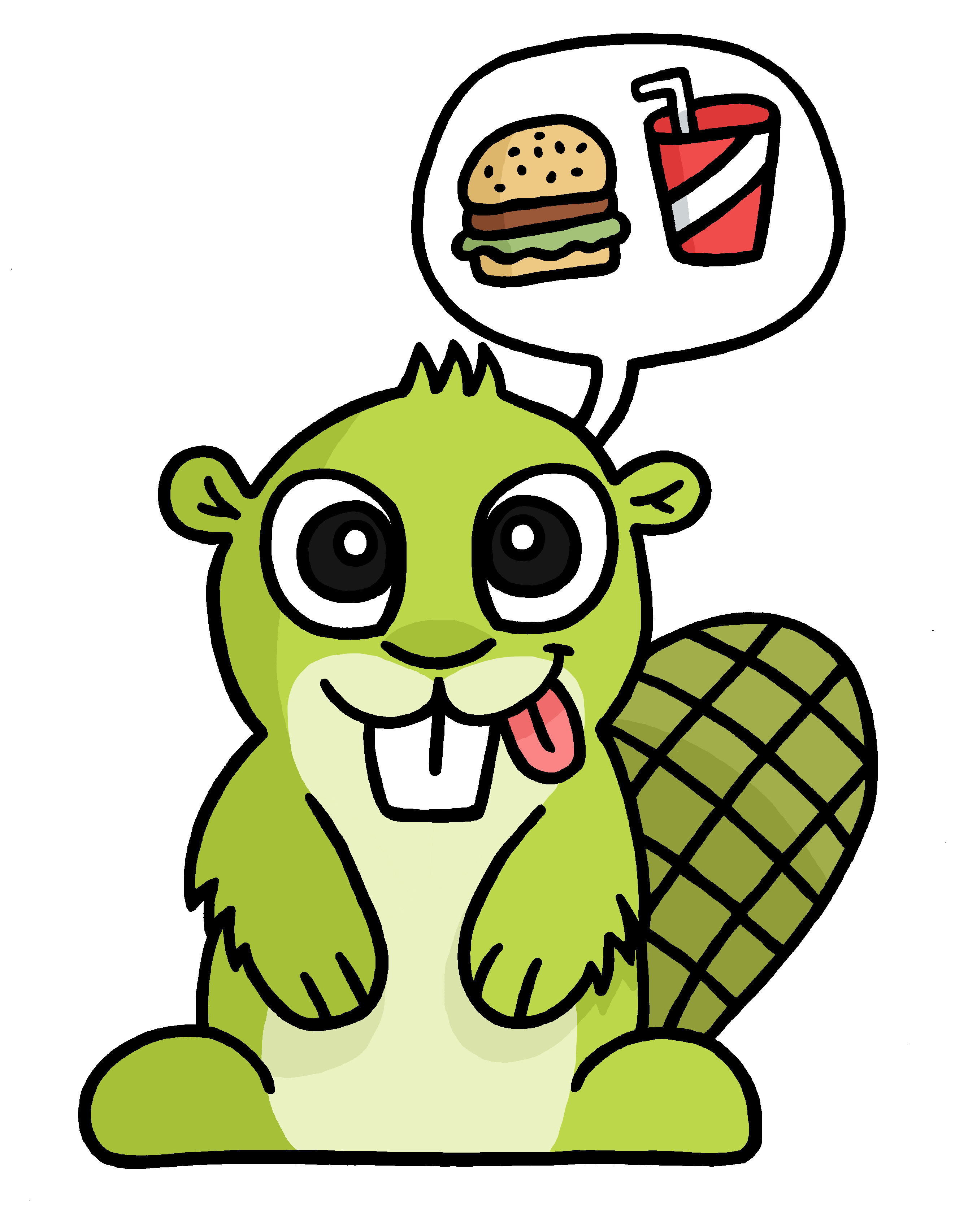Hungry Adsy transparent PNG.