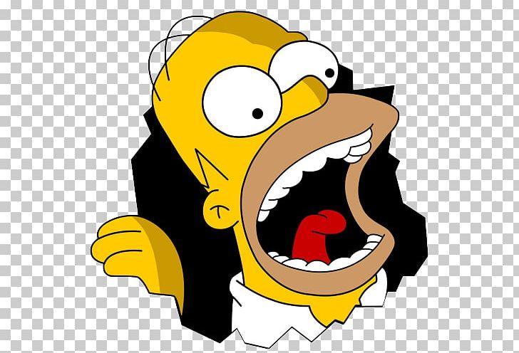 Homer Simpson Bart Simpson Hungry PNG, Clipart, Art, Artwork, Bart.
