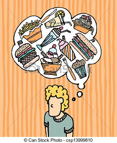 Hungry Clipart Page 1.