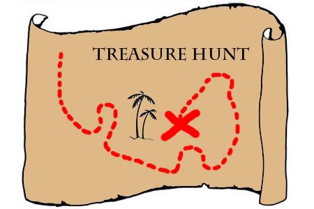 Treasure Hunt Clip Art.