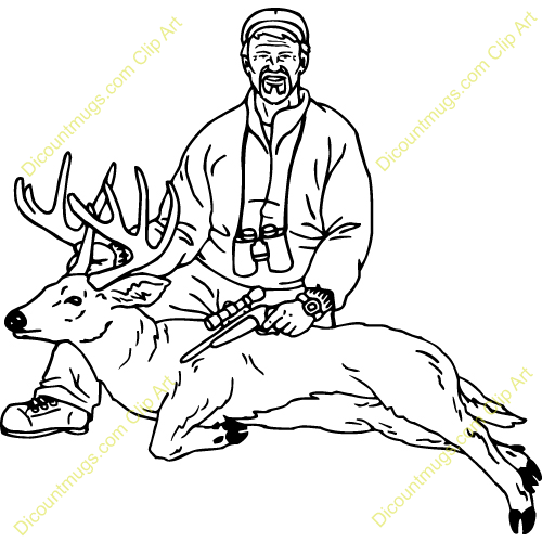 hunted clipart