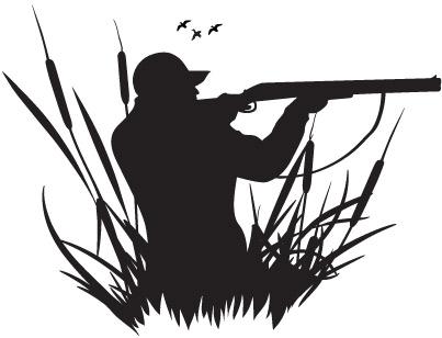 Hunter Clipart.