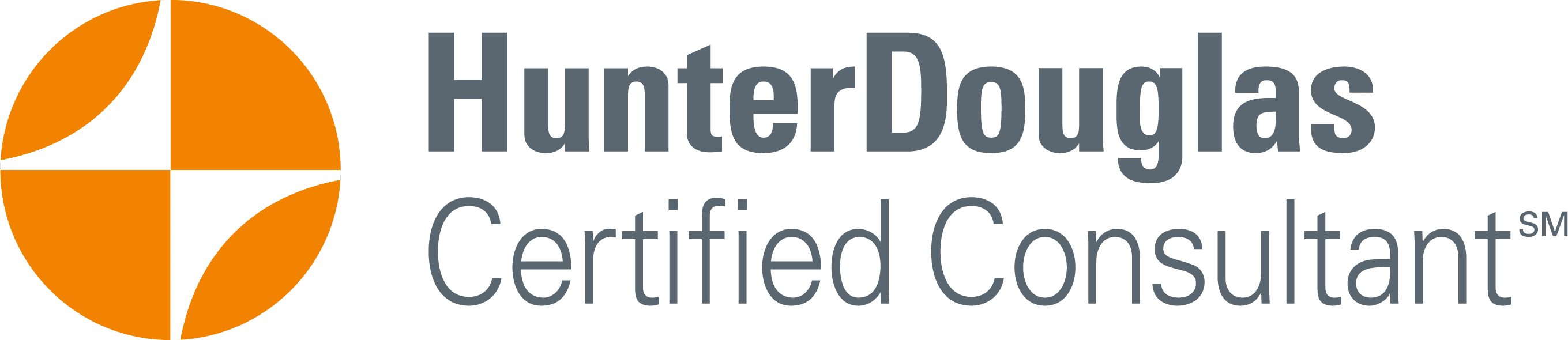 Certified Hunter Douglas Consultant.