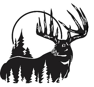 Hunting clipart for walls.