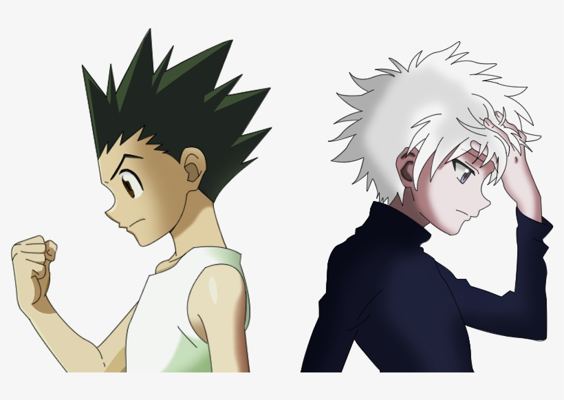 Killua Transparent Gon Clip Art Download.