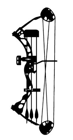 8960 Bow free clipart.