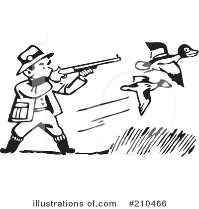 Hunting Clipart.