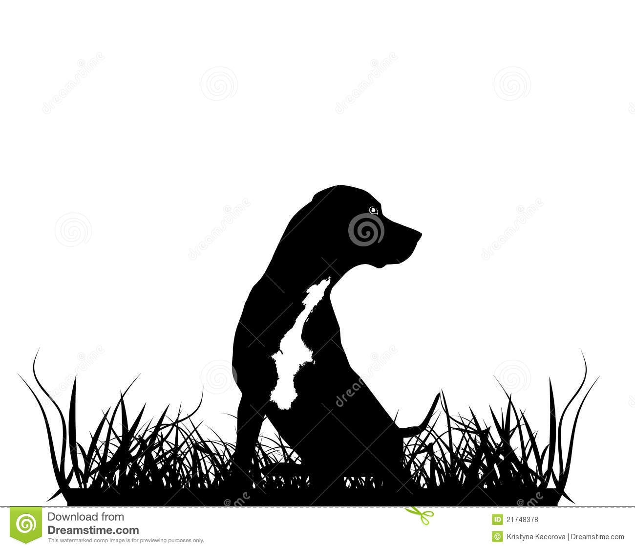 Hunting Dog Silhouette Clipart#2154963.