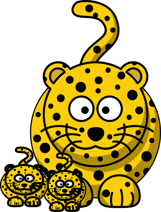 Free vector graphic: Leopard, Cheetah, Hunting.