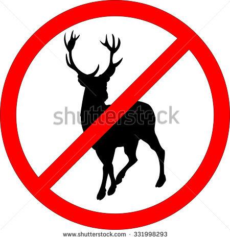 No Hunting Stock Photos, Royalty.