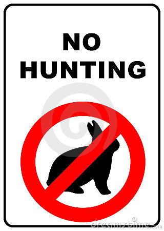 Hunting Prohibited Stock Photos, Images, & Pictures.