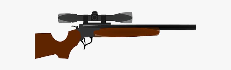 Weapon Clipart Hunting Gun.