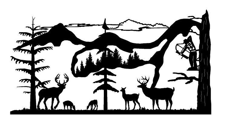 Hunting Scene Cliparts Free Download Clip Art.