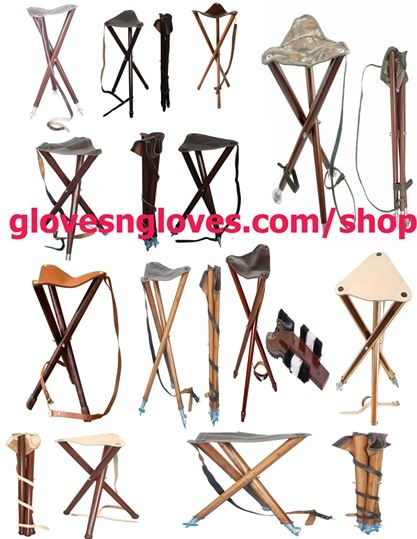711 Gloves Garments & Masonic Regalia Apron — Wooden Folding Chair.