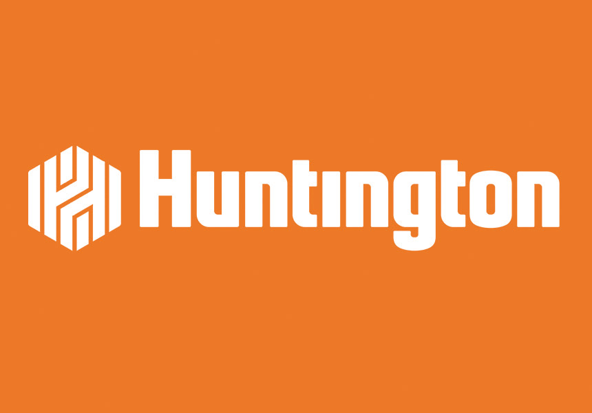 Huntington Bank Logo Orange.