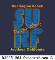Huntington beach Clipart Illustrations. 4 huntington beach clip.