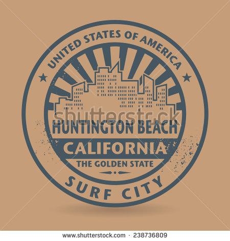 Huntington beach clipart.