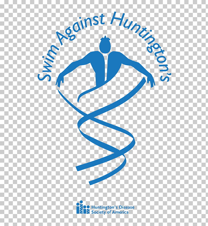 Logo Organization Human behavior Huntington\'s Disease.