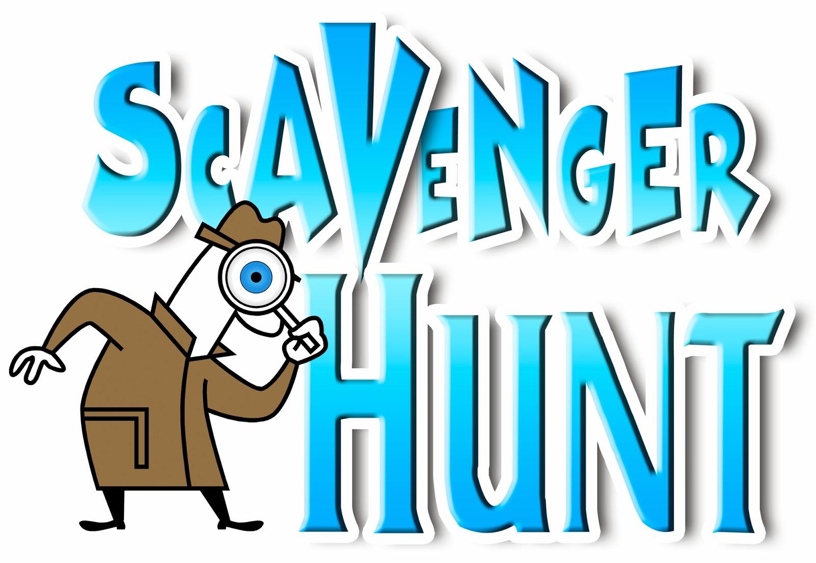 Clipart scavenger hunt.