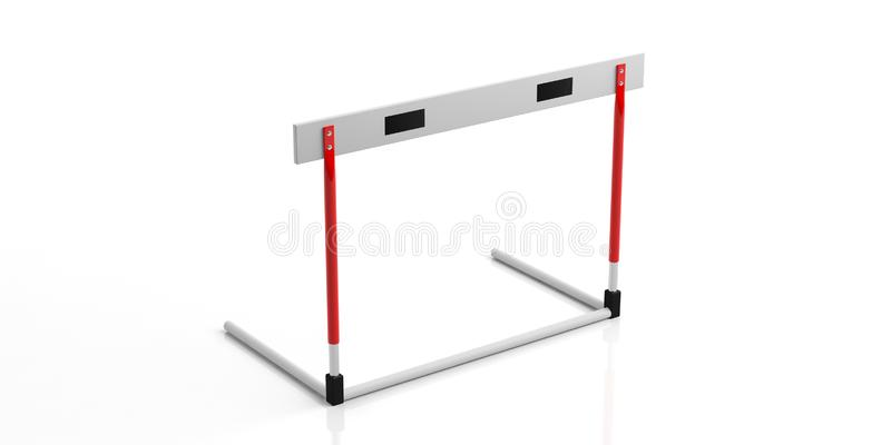 Hurdle Isolated Stock Illustrations.