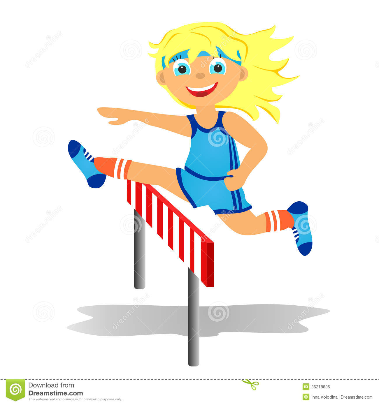 Hurdle race clipart - Clipground